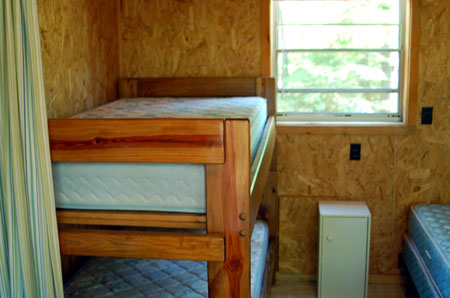 cabins bunk beds