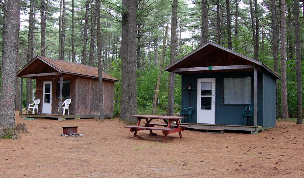 Rv cabin tent camping in the adirondacks magic pines Campground cabin rentals