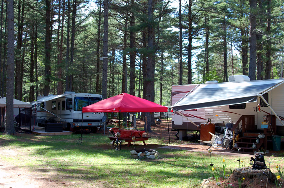RV, Cabin & Tent Camping in the Adirondacks: Magic Pines Campground